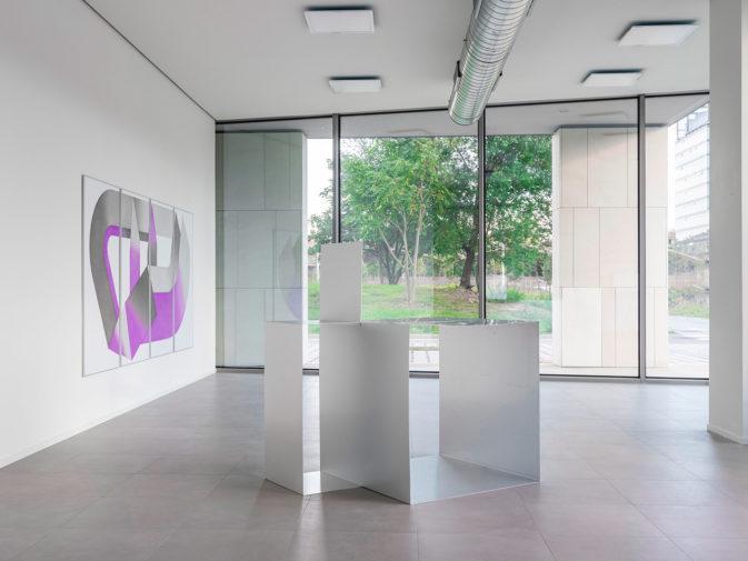 PROIEZIONE MENO UNO, exhibition view